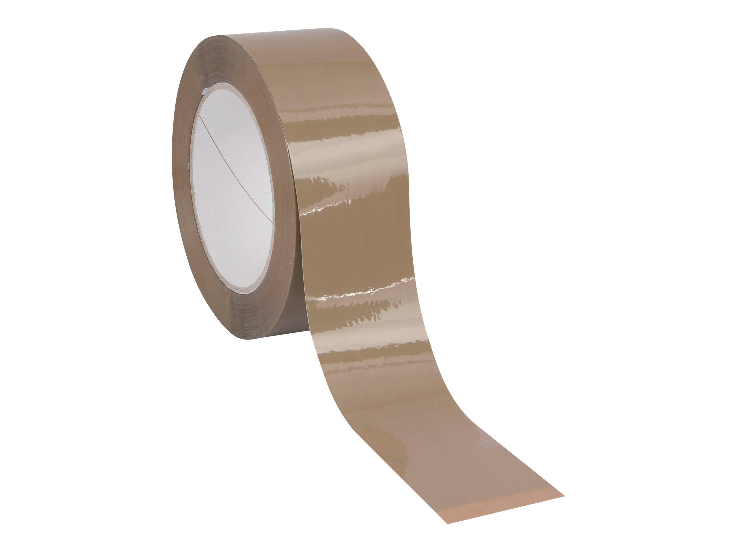 Carton Plus - Ruban adhésif d'emballage - 48 mm x 100 m - havane