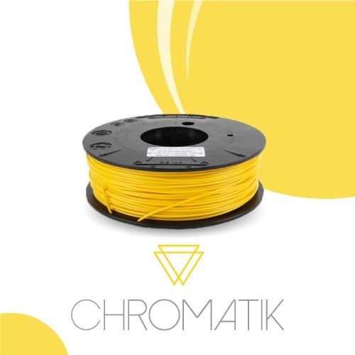 Dagoma Chromatik - filament 3D PLA -jaune soleil - Ø 1,75 mm - 750g