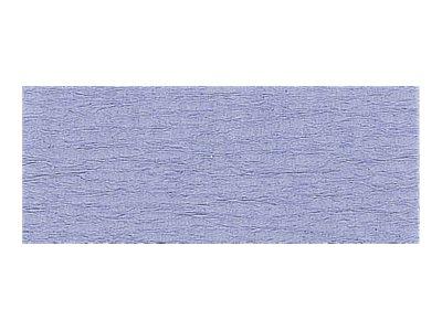 Clairefontaine Premium - Papier crépon - Rouleau 50 cm x 2,5 m - 40 g/m² - bleu ciel