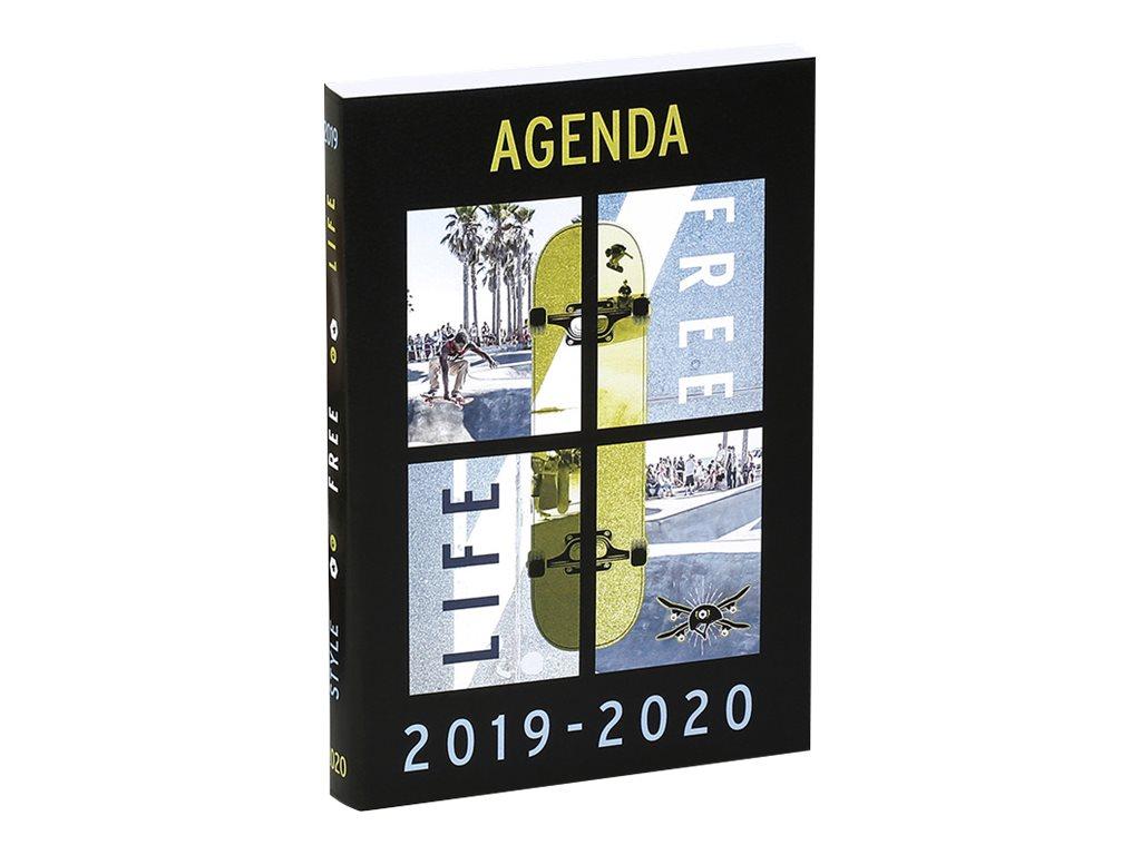 Agenda Brooklyn 2 Modèles 1 Jour par page 11,7X17cm 320 pages Viquel