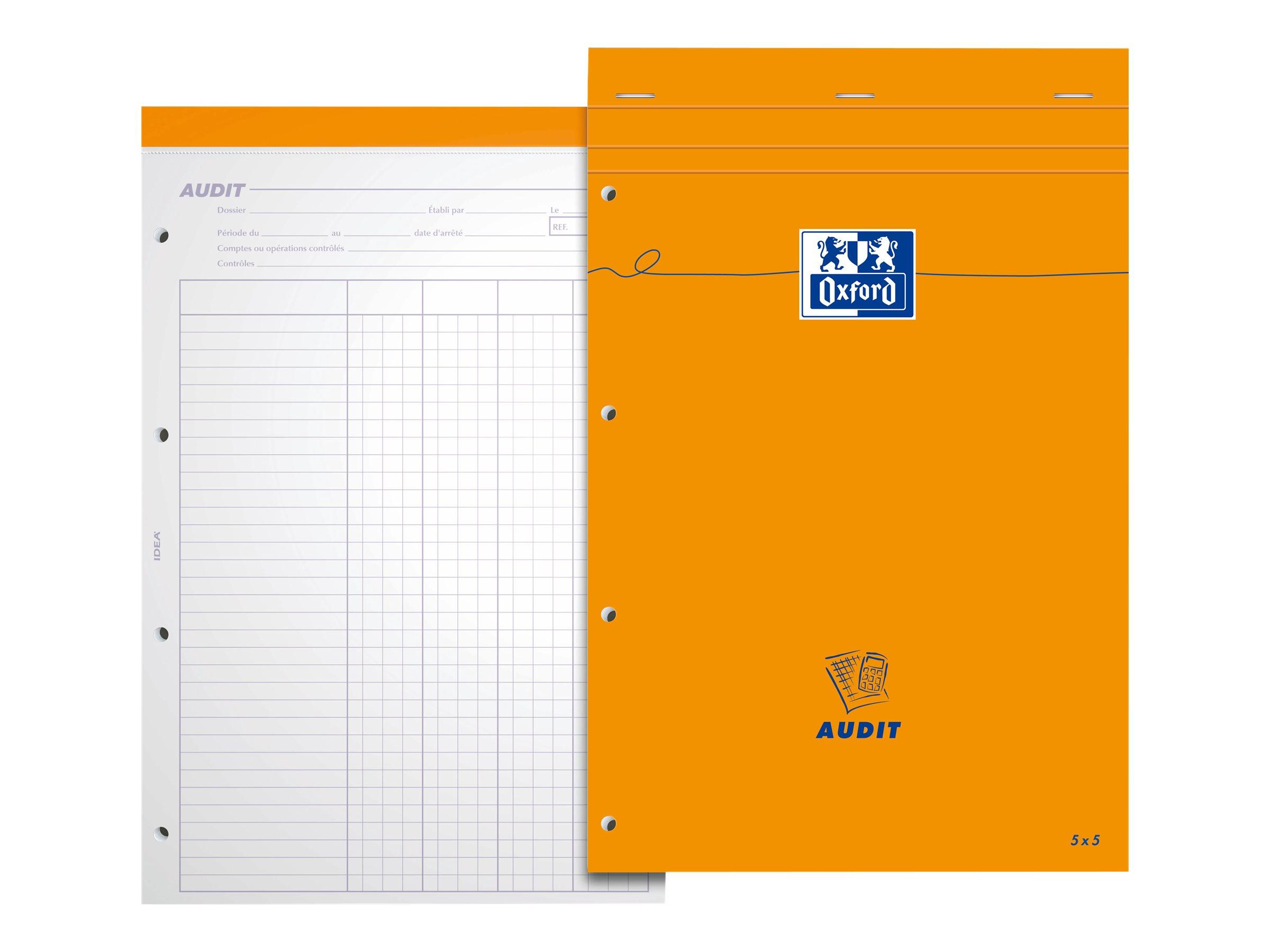 Oxford - Bloc notes de bureau - A4 + - 160 pages - 80G