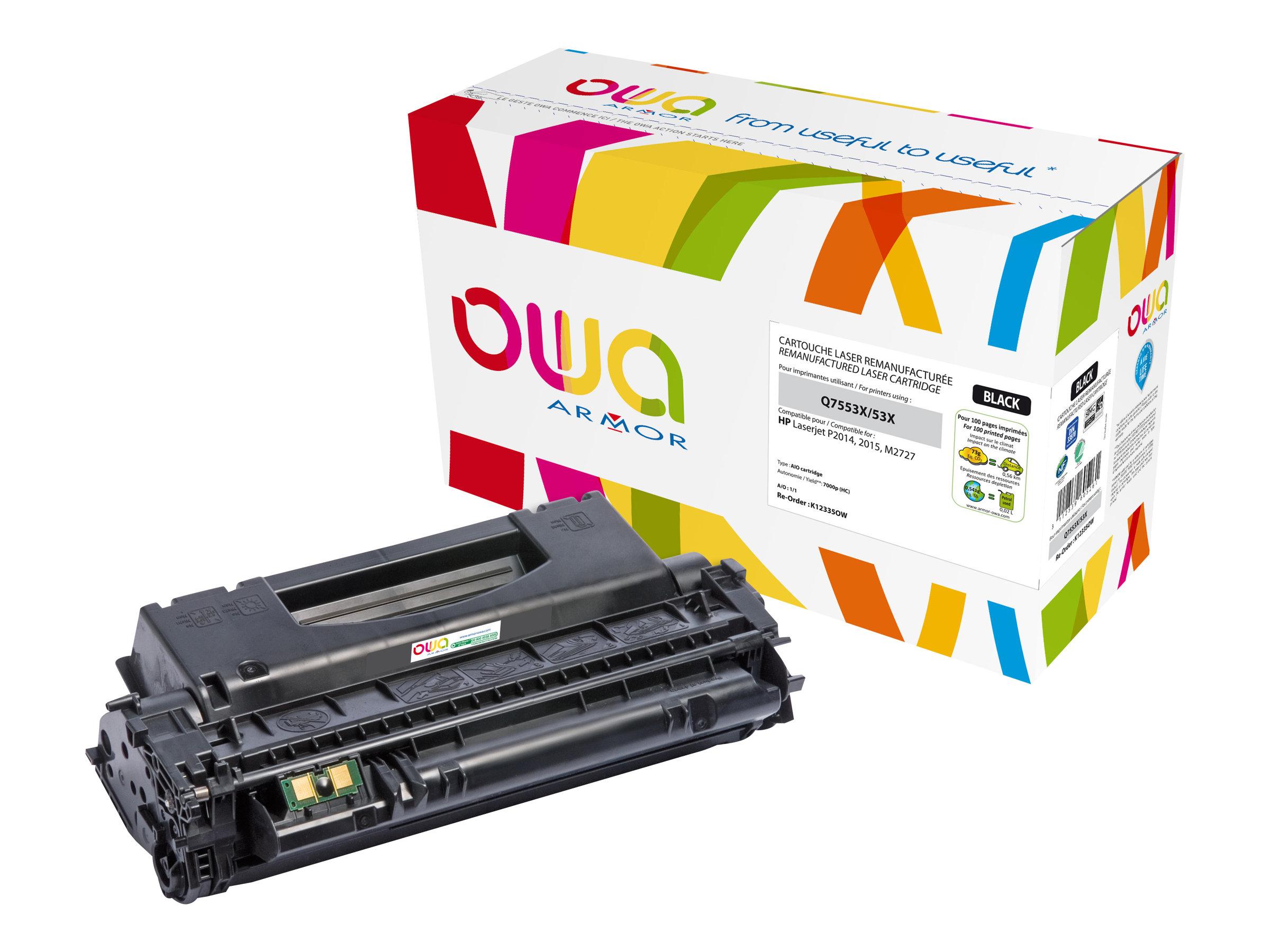 HP 53X - remanufacturé Owa K12335OW - noir - cartouche laser