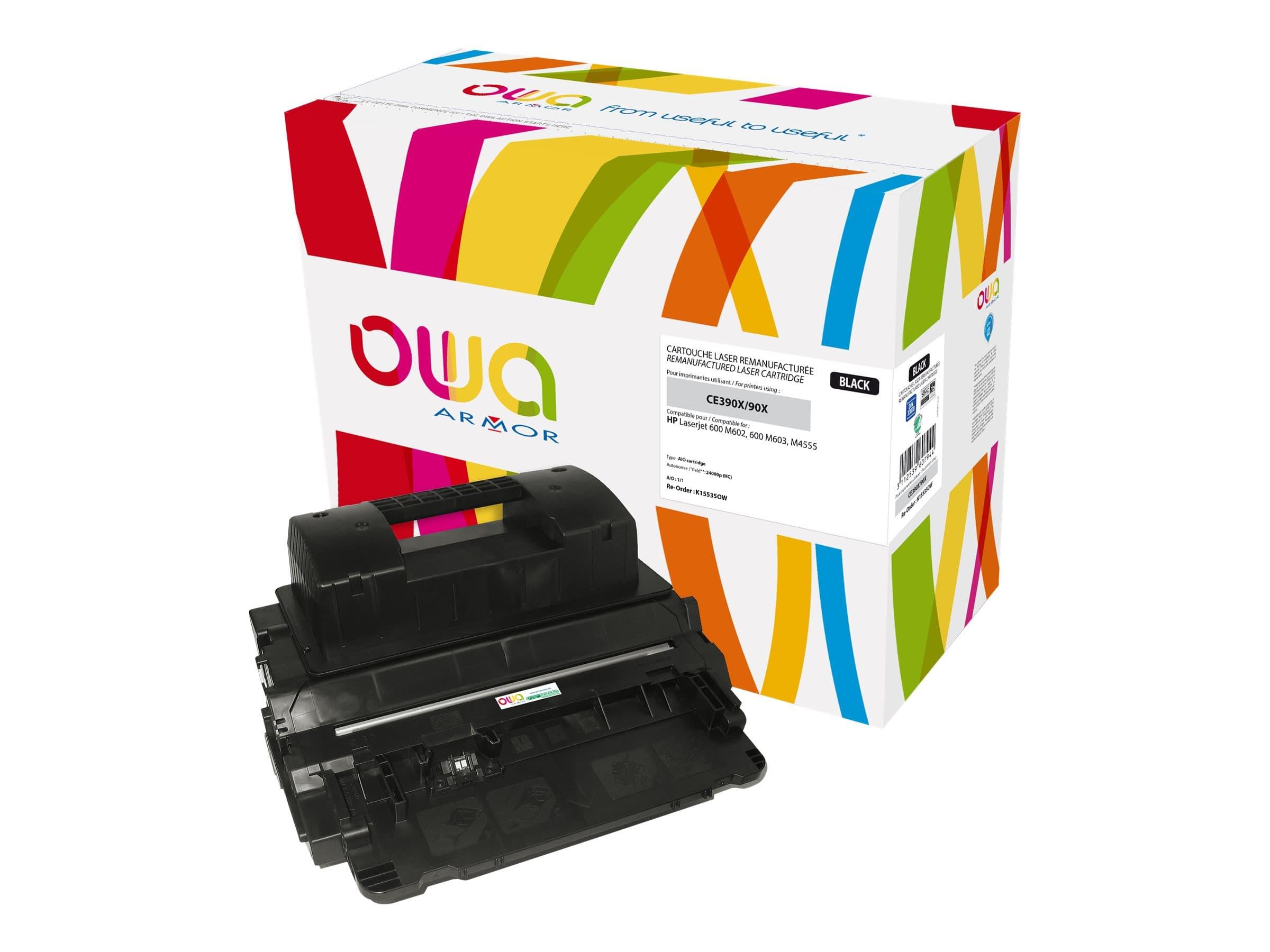 HP 90X - remanufacturé Owa K15535OW - noir - cartouche laser