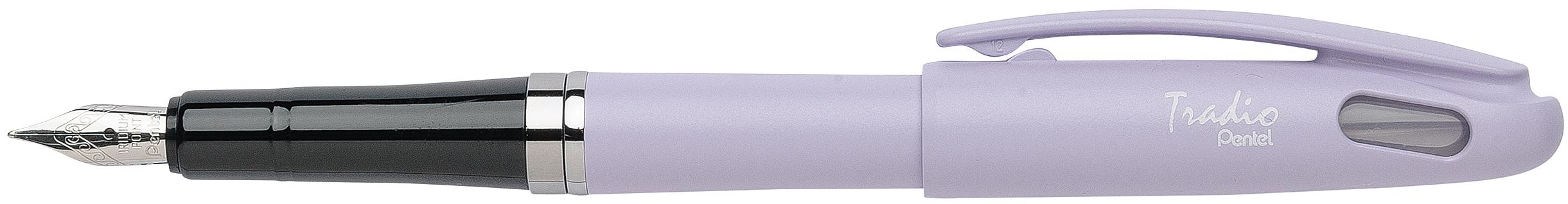 Pentel Tradio Pastel - Stylo plume - corps violet