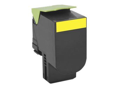 Lexmark 802S - jaune - cartouche laser d'origine