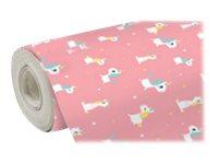 Clairefontaine Excellia - Papier cadeau - 70 cm x 50 m - 80 g/m² - motif licorne rose
