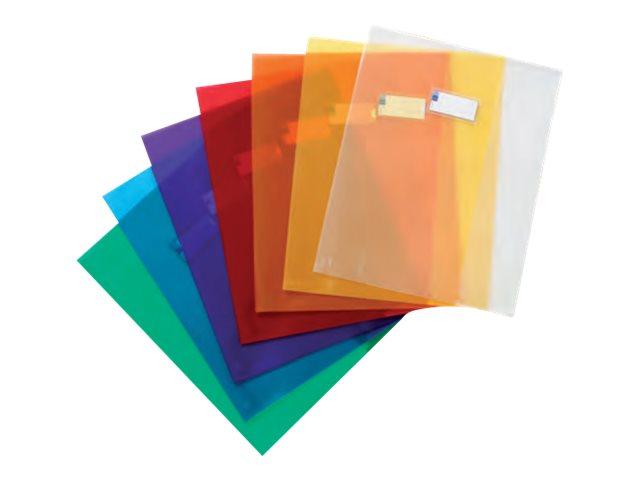 Viquel Just Cover - Protège cahier sans rabat - A4 (21x29,7 cm) - disponible dans différentes couleurs translucides
