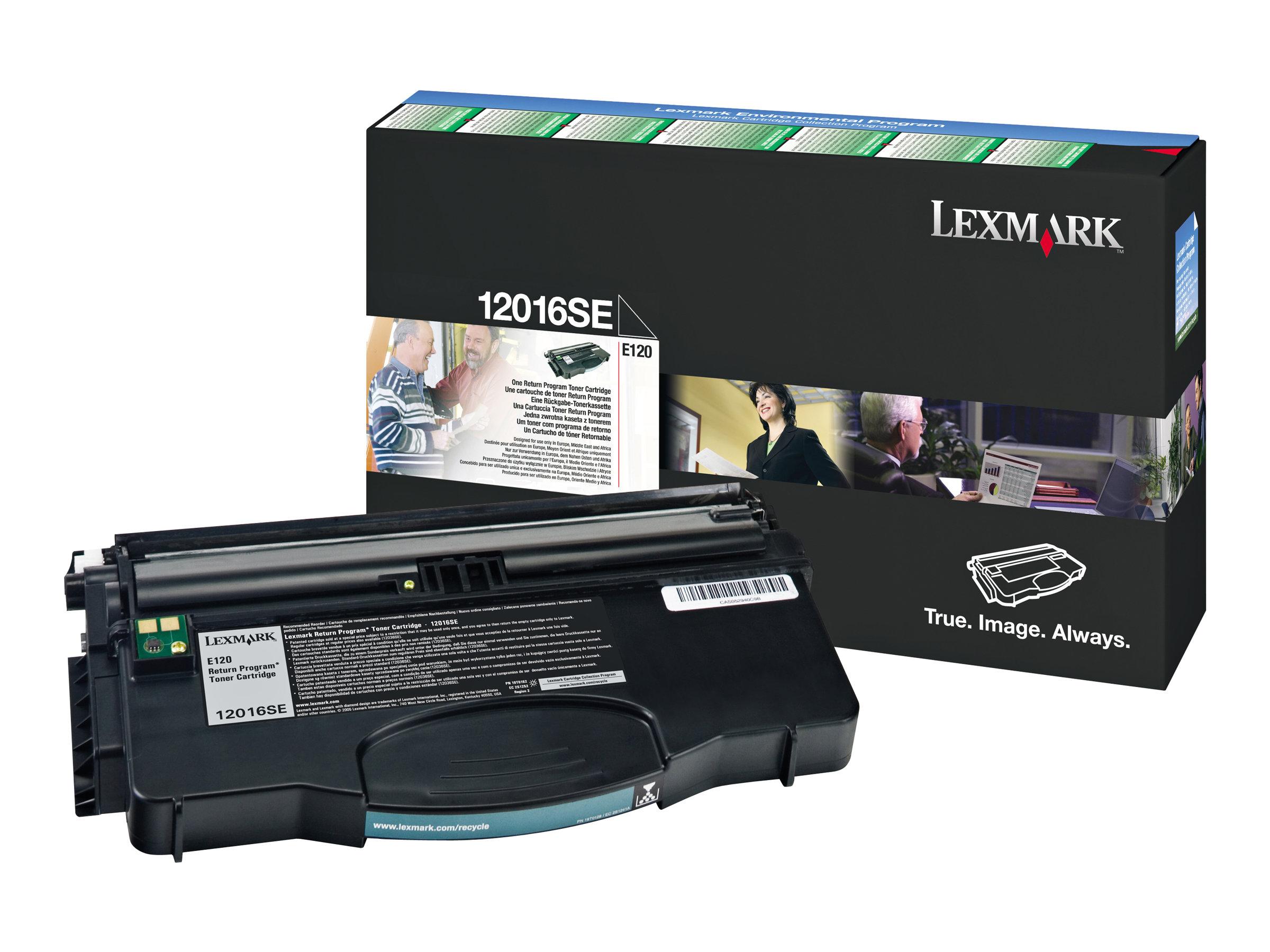Lexmark 12016SE - noir - cartouche laser d'origine