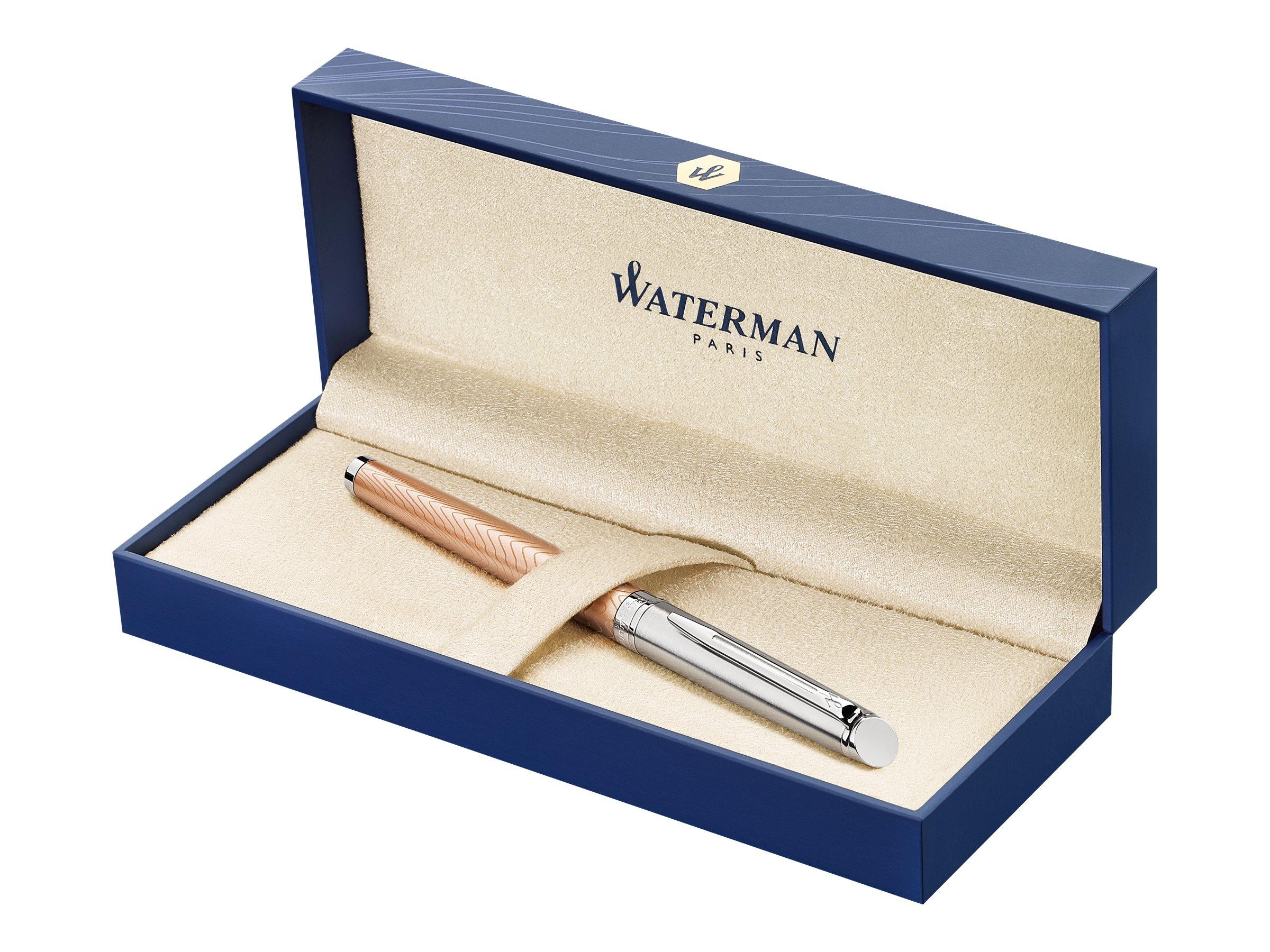 Waterman Hemisphere Deluxe - Stylo plume rose - pointe moyenne