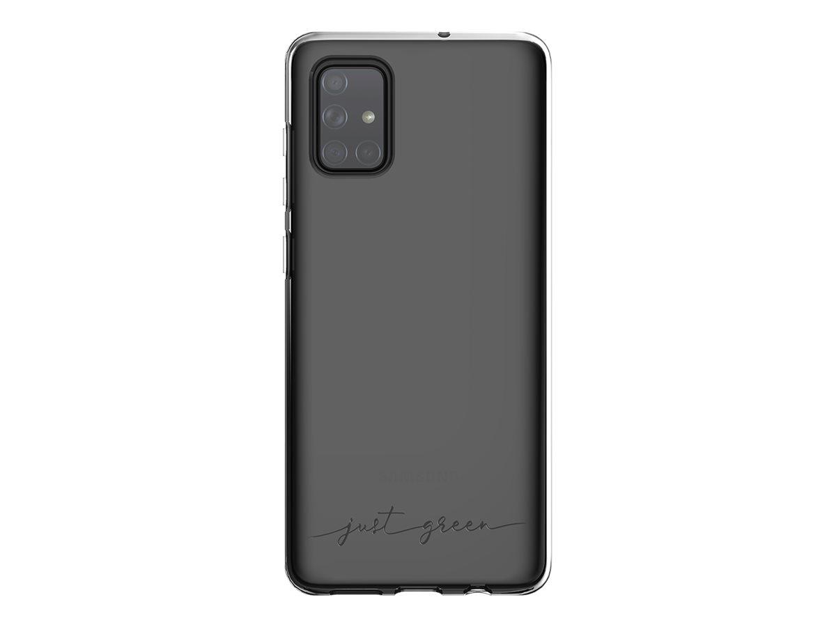 Just Green - Coque de protection pour Samsung A71 - transparent