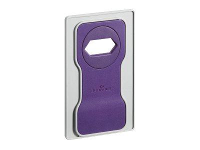 Durable Varicolor - Support de charge pour smartphone - violet clair