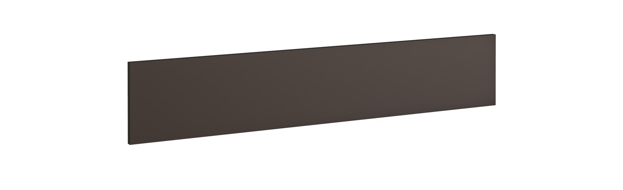 Voile de fond pour bureau MAMBO L160 cm - L130 x H25 cm - Chocolat