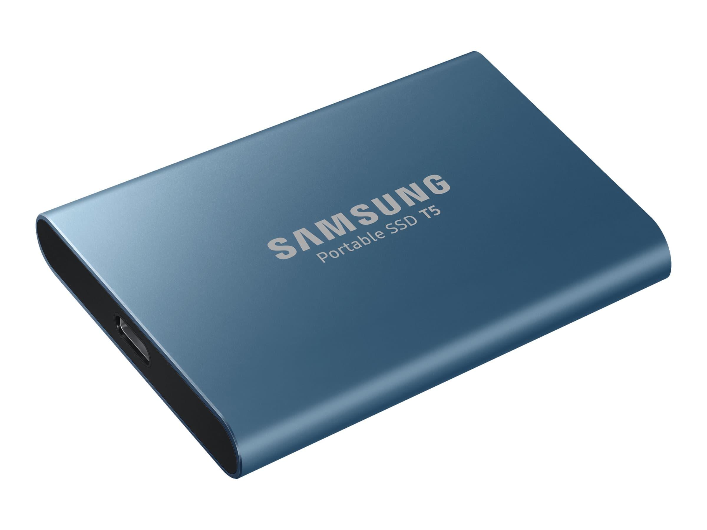 Samsung T5 MU-PA500 - Disque dur 500 Go - USB 3.1 - bleu