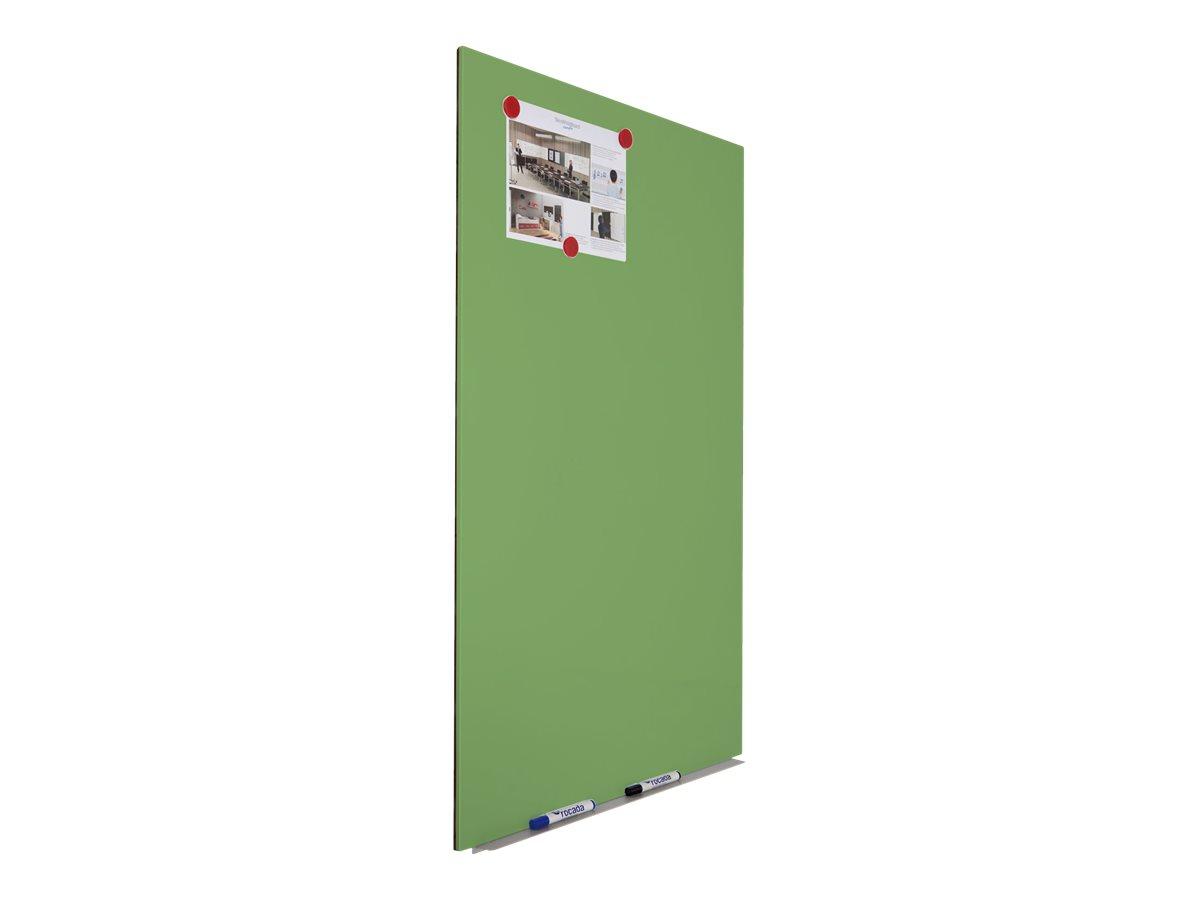 Rocada by CEP - Tableau blanc sans cadre - 75 x 115 cm - vert