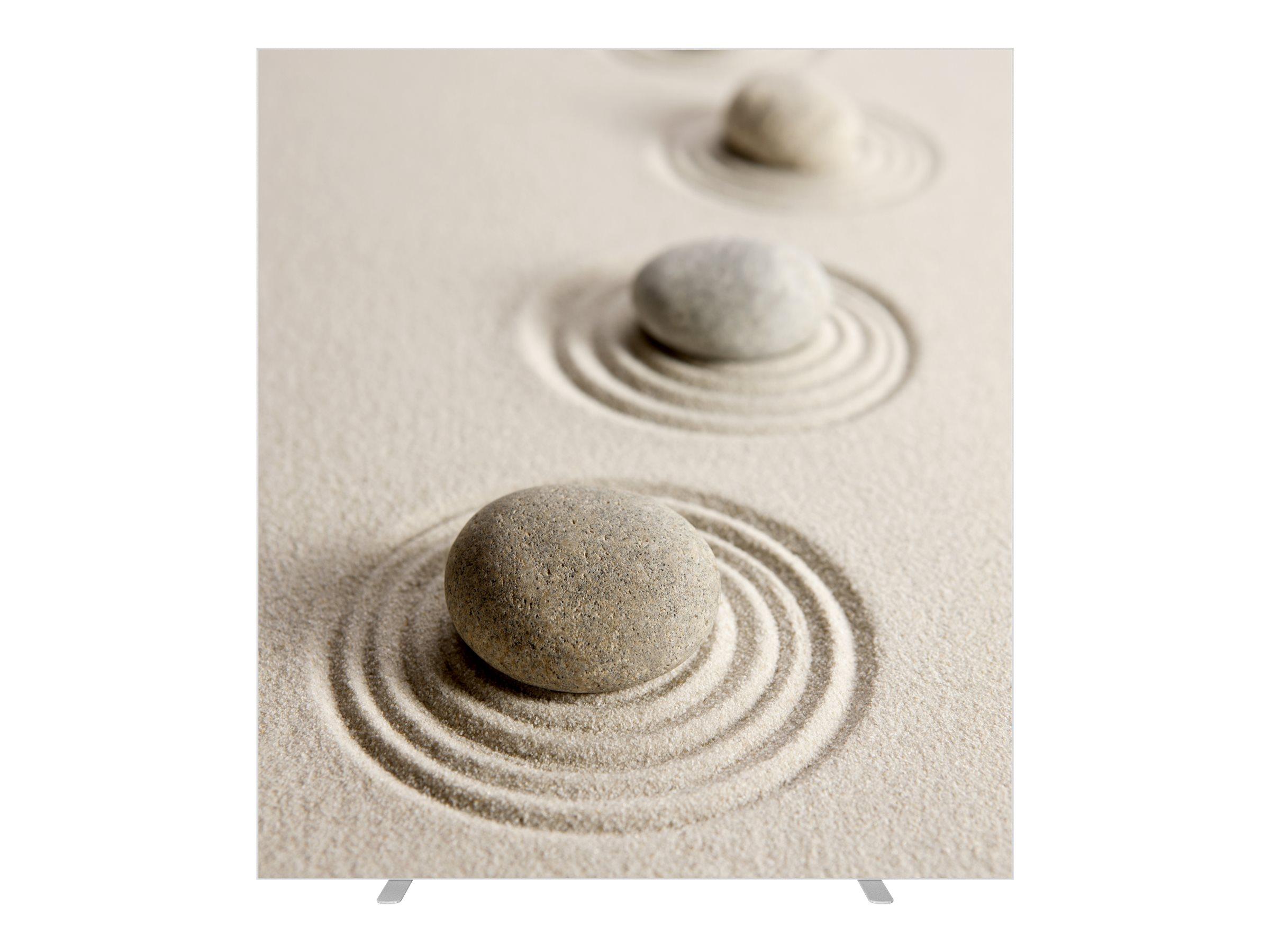 Cloison de séparation EASYSCREEN - L160 x H174 cm - sable fin