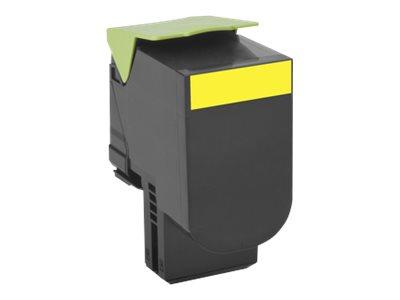 Lexmark 802H - jaune - cartouche laser d'origine