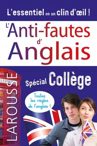 L'Anti-fautes d'Anglais - spécial collège