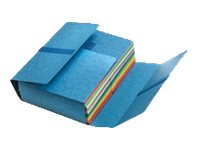 Fast Jumbo Standard - Chemise velcro à rabats - bleu