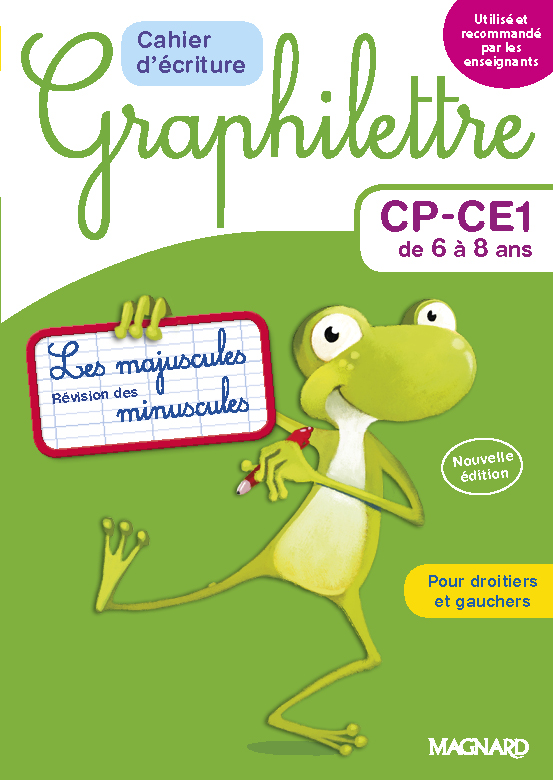MAGNARD - Graphilettre cycle CP-CE1