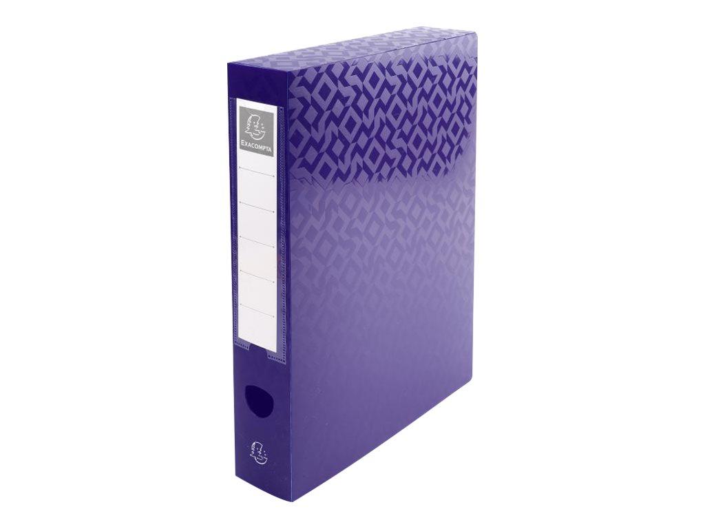 Exacompta OffiX - Boîte de classement bouton pression - dos 60 mm - disponible dans différentes couleurs