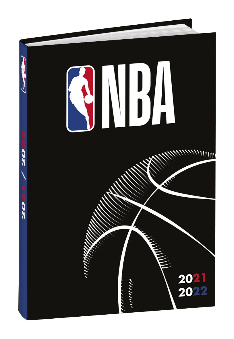 Agenda NBA - 1 jour par page - 12 x 17 cm - basketball - Quo Vadis