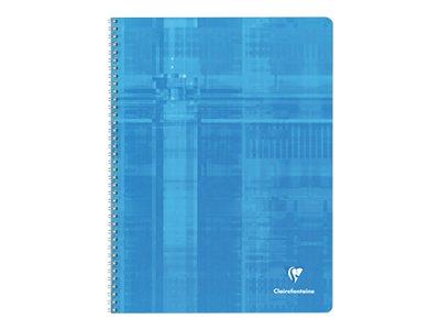 Clairefontaine - Cahier à spirale 24 x 32 cm - 100 pages - petits carreaux (5x5 mm) - disponible dans différentes couleurs