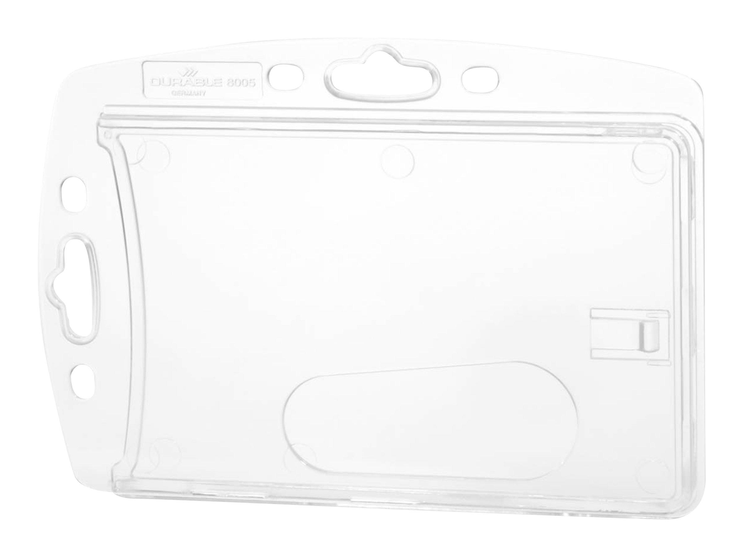 Durable - 10 Portes badge de nom - 54 x 85 mm - 1 carte