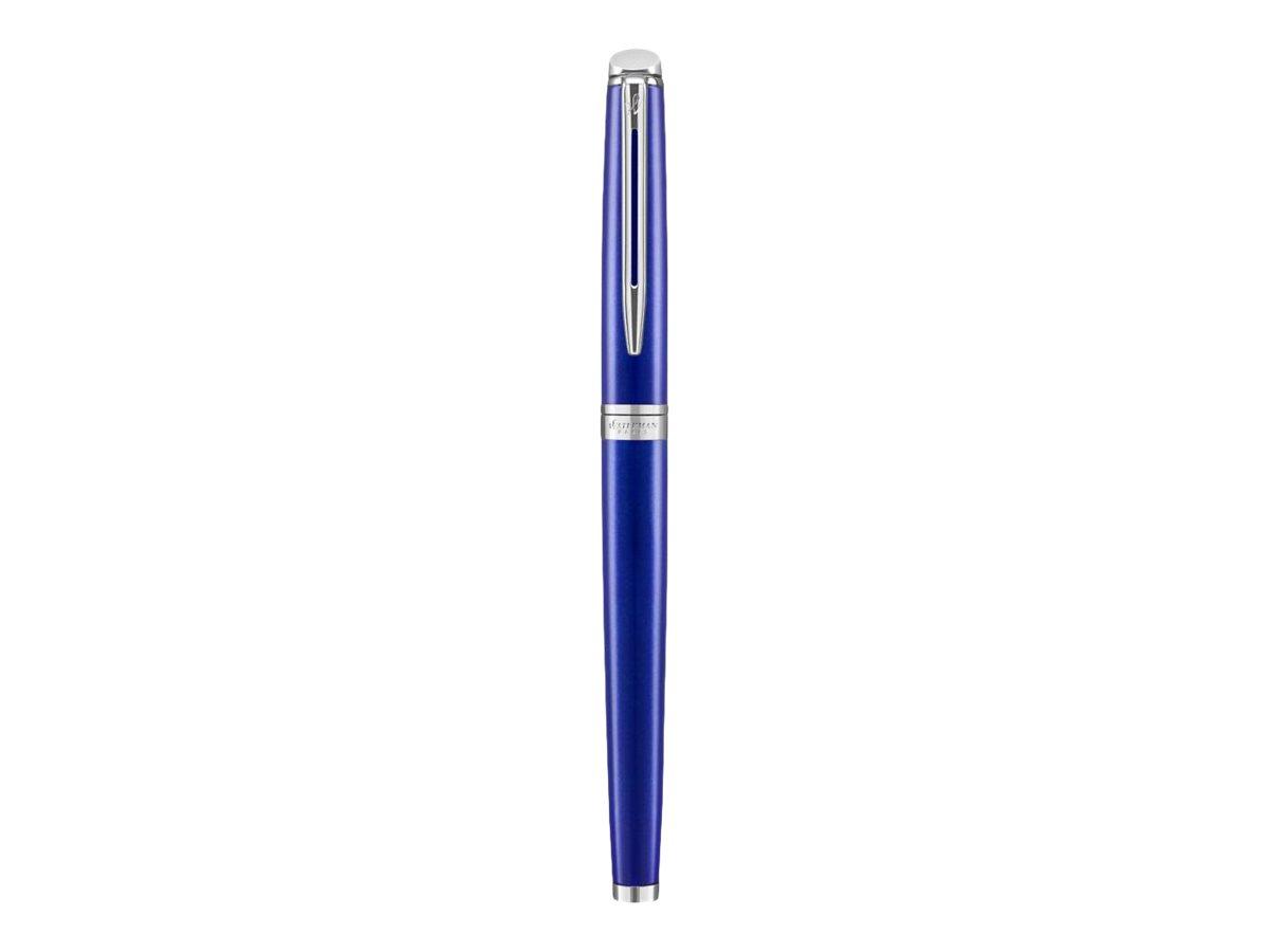 Waterman Hemisphere - Stylo plume bleu - pointe fine