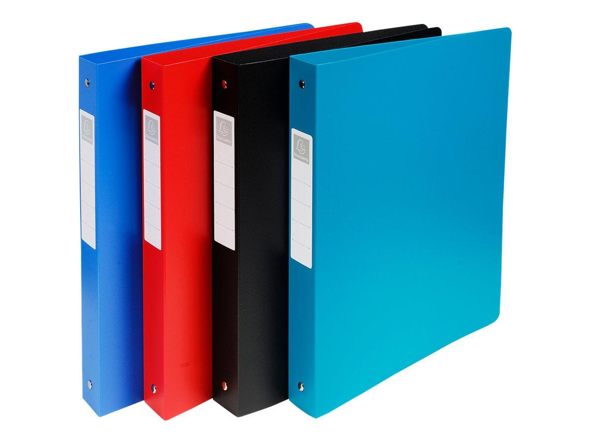 Exacompta Opak - Classeur à anneaux - Dos 40 mm - A4 Maxi - pour 225 feuilles - disponible dans différentes couleurs