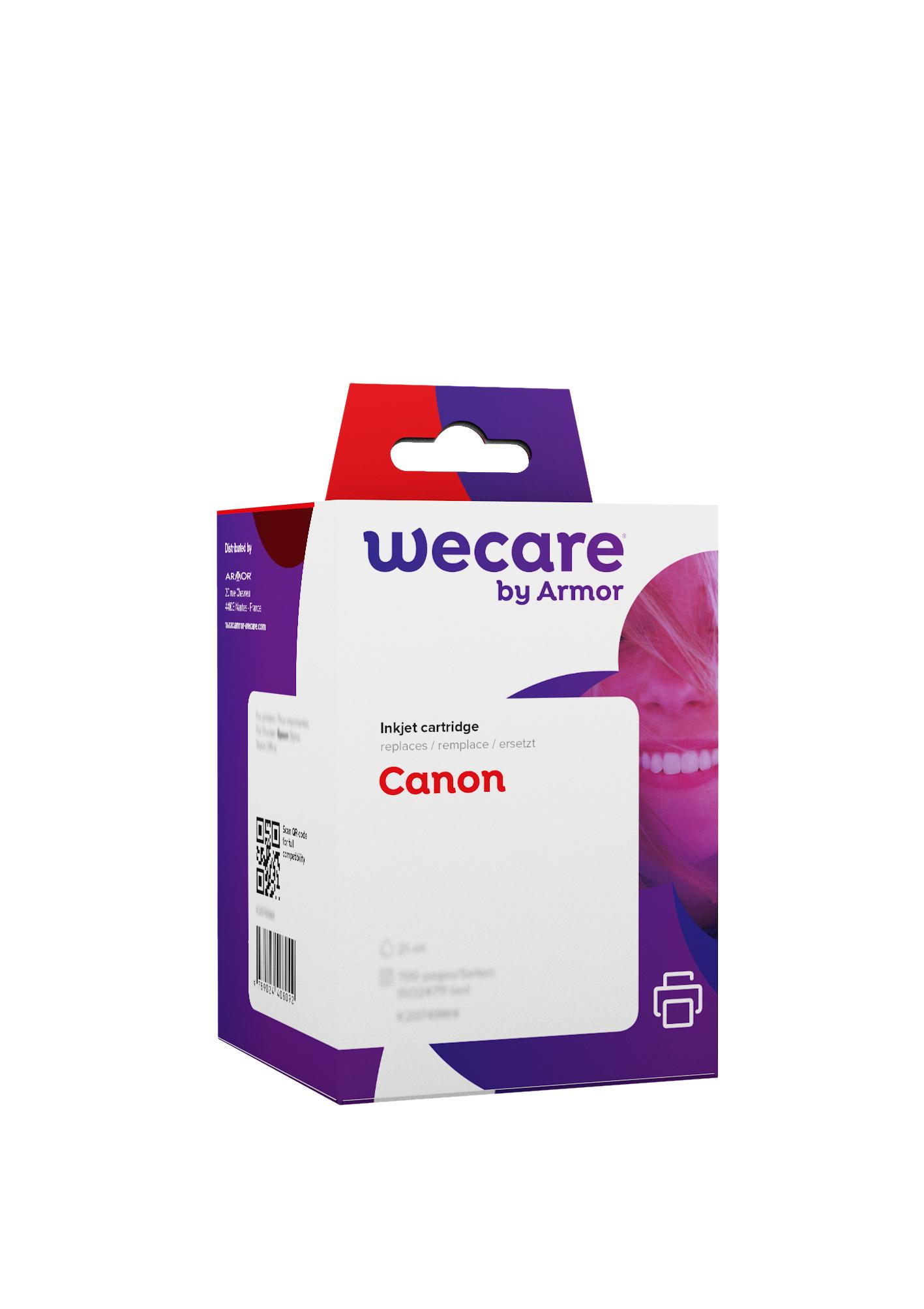 Canon PGI-2500XL - compatible Wecare K10405W4 - pack de 4 - noir, cyan, magenta, jaune - cartouche d'encre
