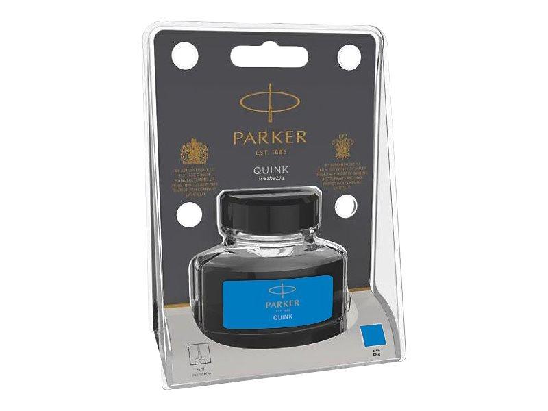 Parker Quink - Flacon d'encre 57ml pour stylo plume - bleu