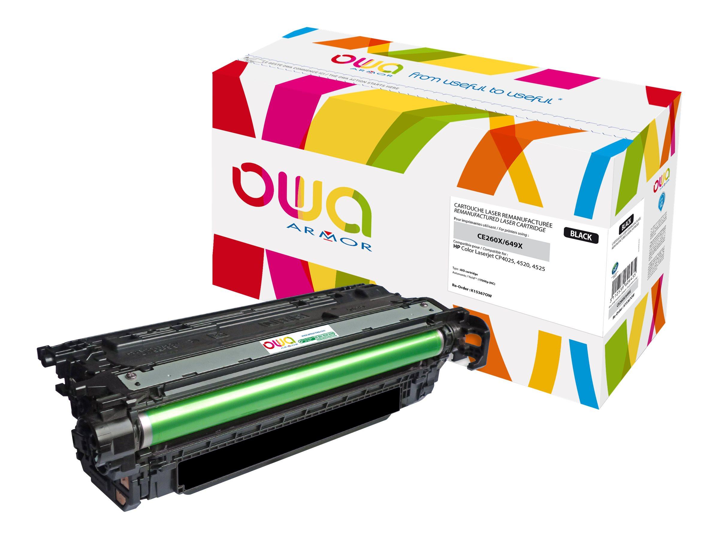 HP 649X - remanufacturé OWA K15367OW - noir - cartouche laser
