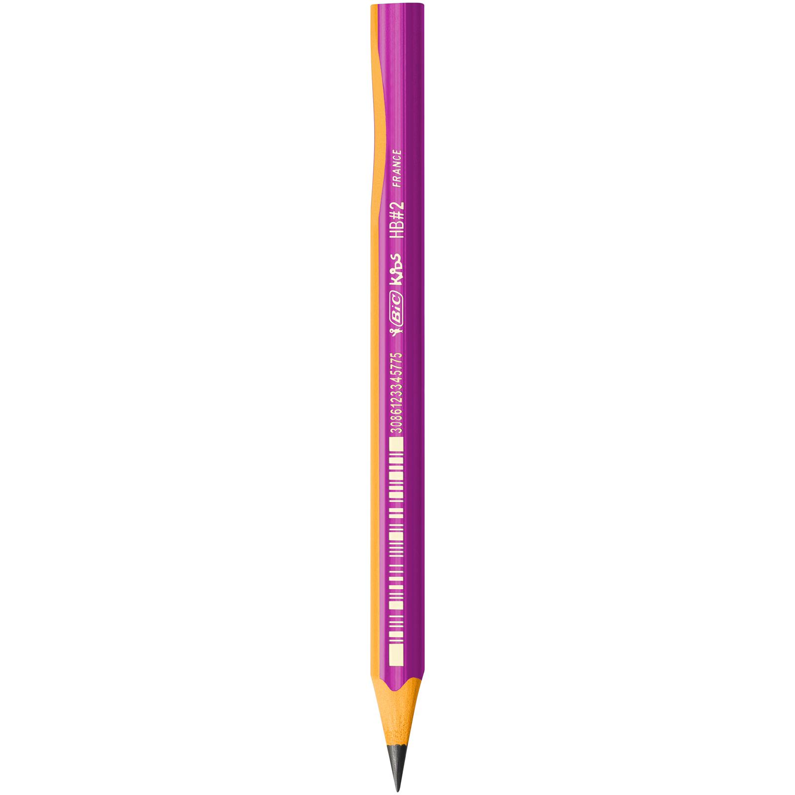 BIC Kids - Crayon à papier - spécial apprentissage - corps rose