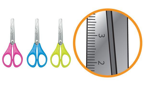 Maped Essentials - Ciseaux bouts ronds - 13 cm