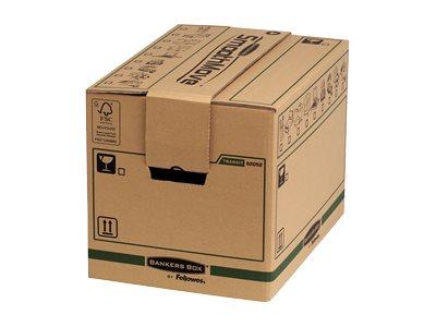 Bankers Box SmoothMove FastFold - 5 cartons déménagement 37,5L - Fellowes