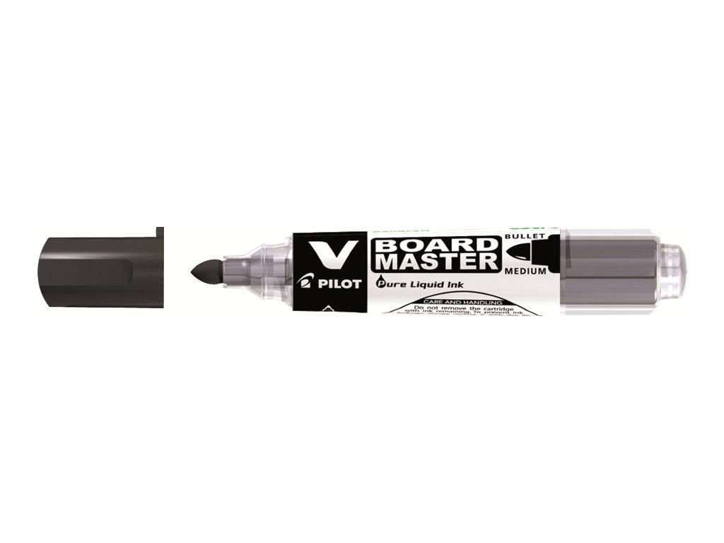Pilot V BOARD MASTER - Marqueur effaçable - pointe ogive - noir