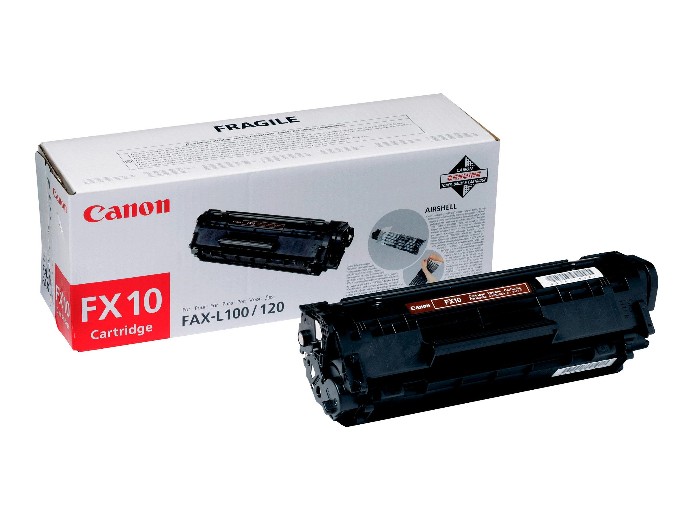 Canon FX-10 - noir - cartouche laser d'origine