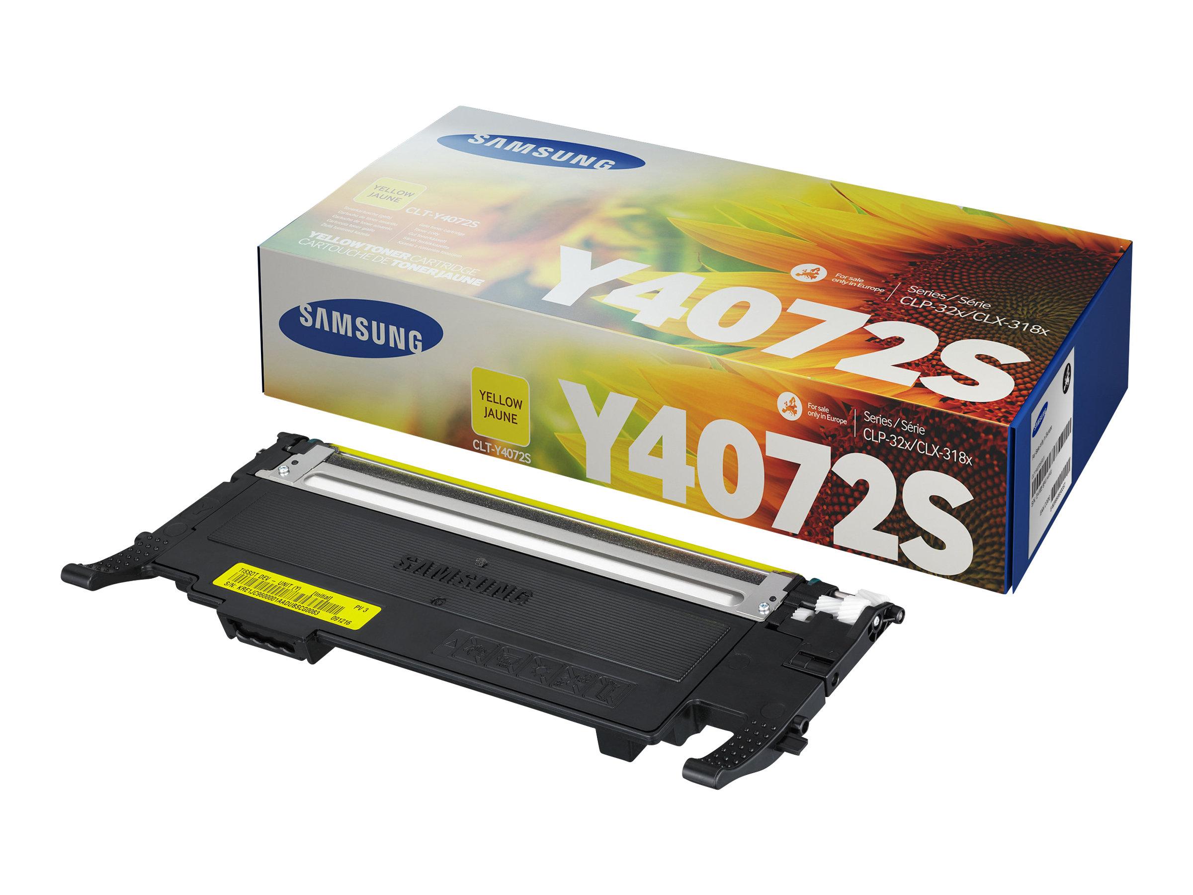 Samsung CLT-Y4072S - jaune - cartouche laser d'origine