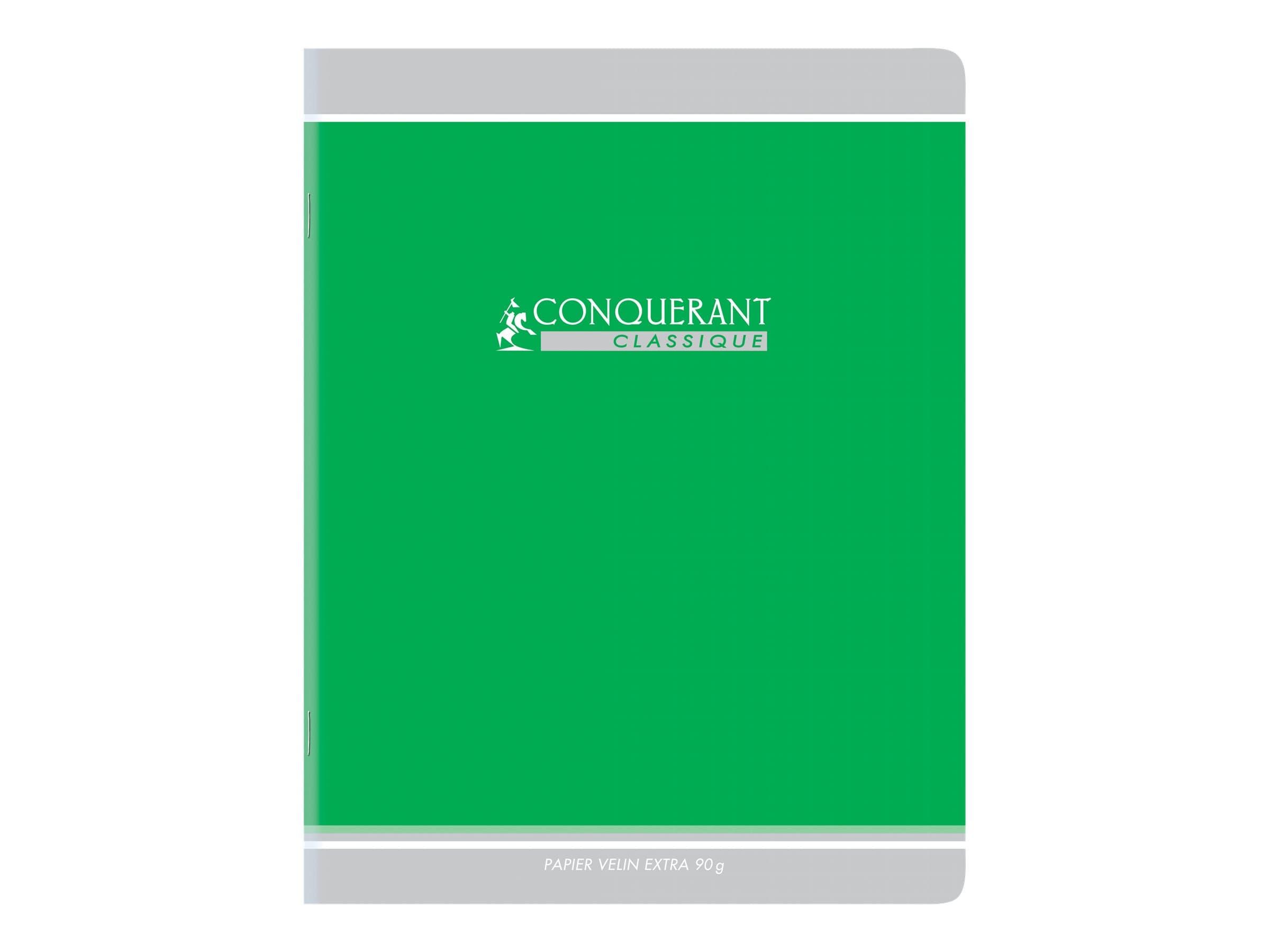Conquérant Classique - Cahier d'écriture DL 3/10 mm - 17 x 22 cm - 32 pages