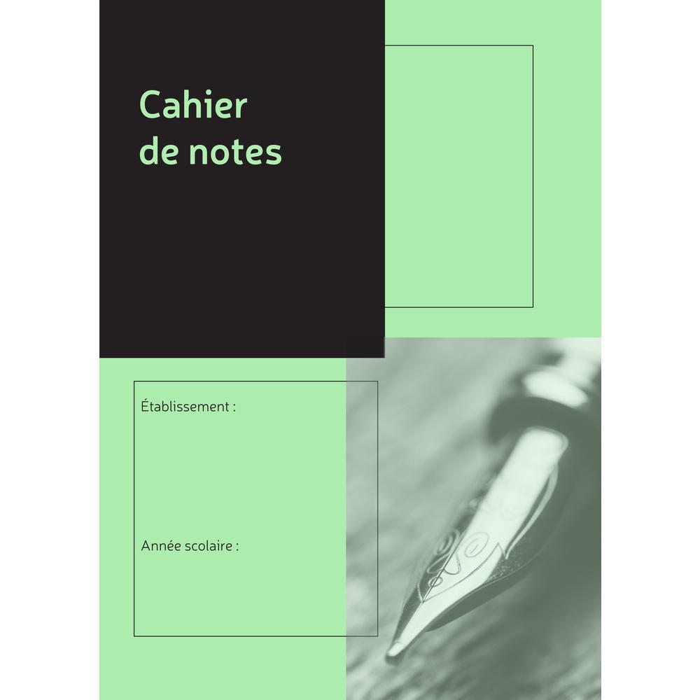 Exacompta - Cahier de notes pré-imprimées - pour 36 élèves - A4
