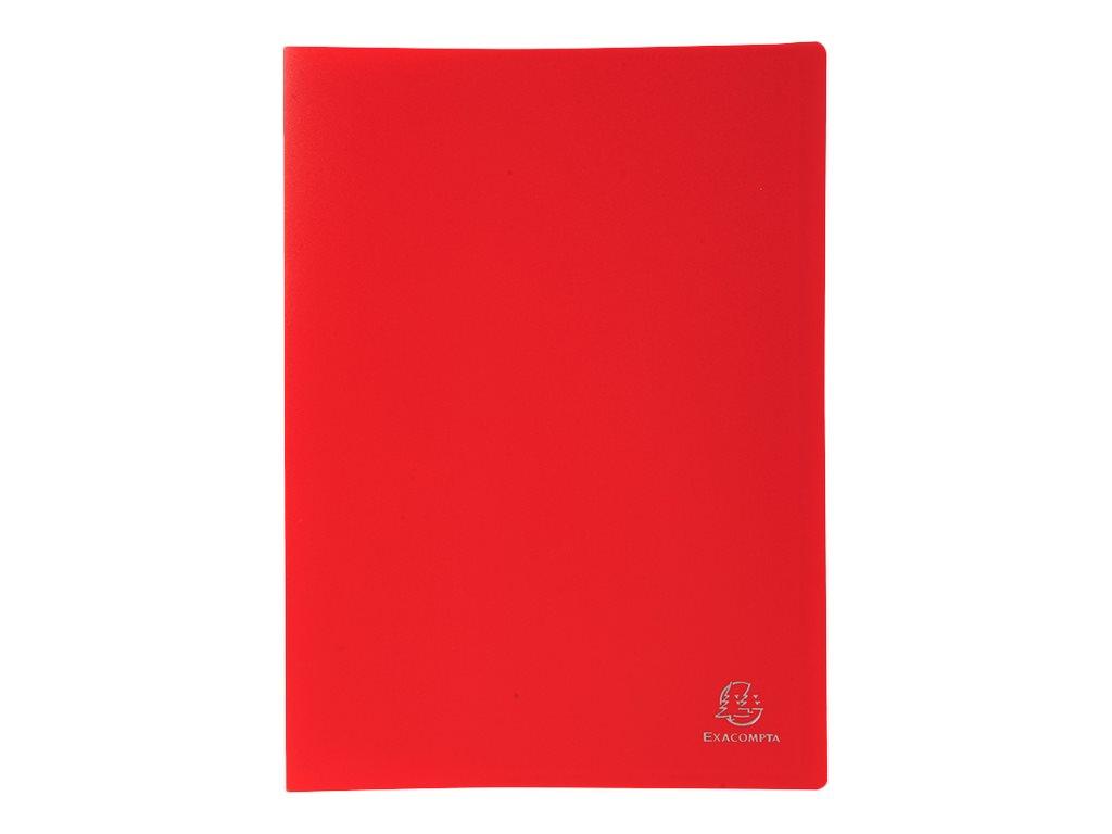 Exacompta - Porte vues - 140 vues - A4 - disponible dans différentes couleurs