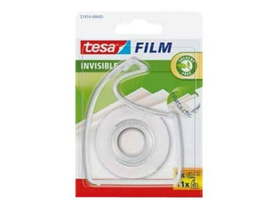 Tesa - Ahésif invisible sur dévidoir transparent - 19 mm x 33 m