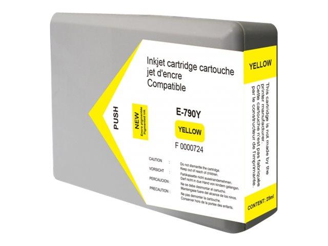 Epson 79XL Tour de Pise - compatible UPrint E.79XLY - jaune - cartouche d'encre