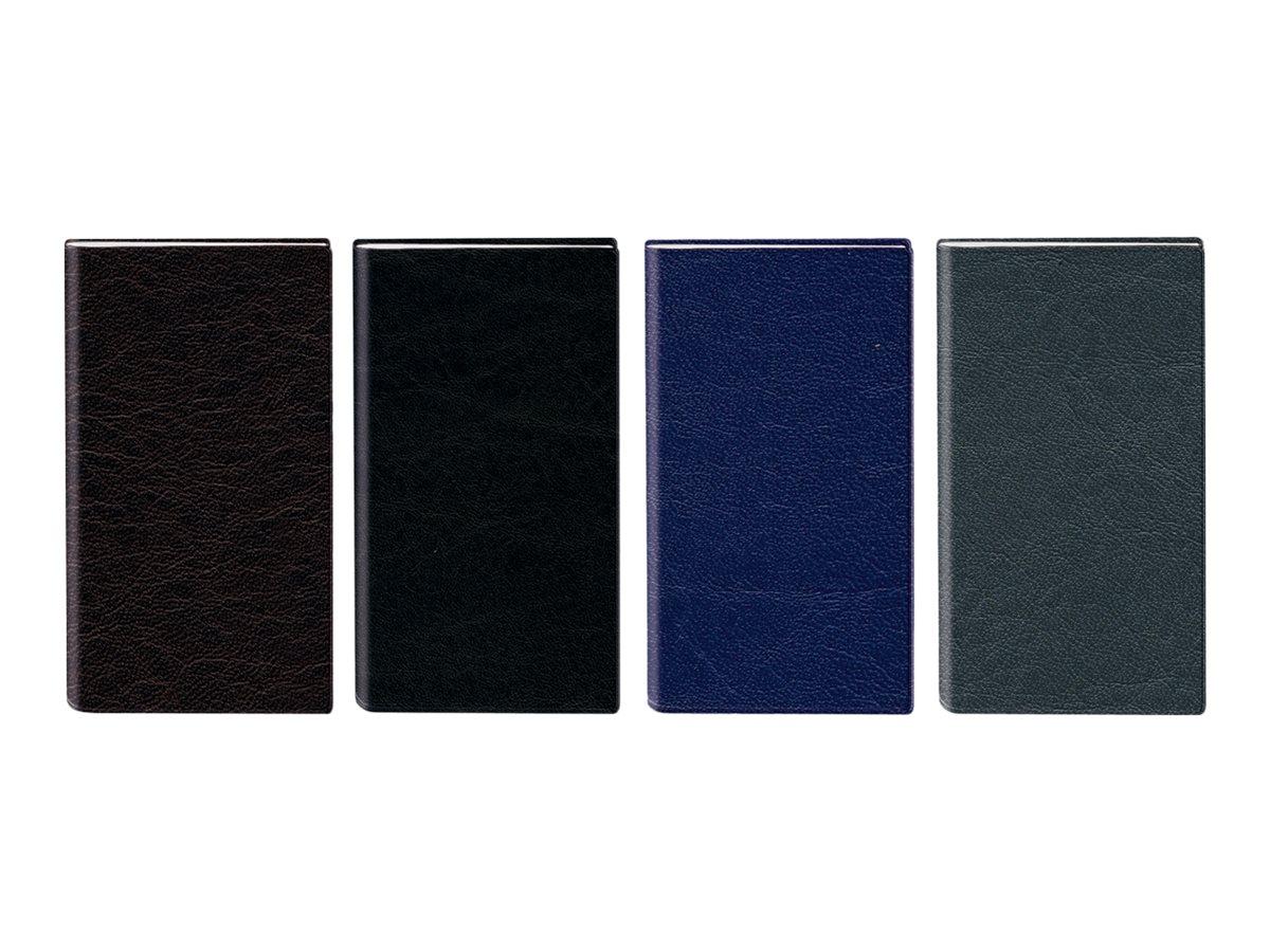 Oberthur Oslo - Répertoire Carnet d'adresses 8 x 12,5 cm - disponible dans différentes couleurs