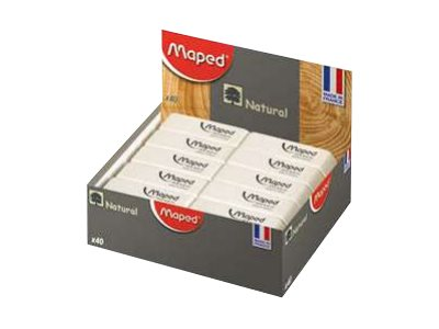 Maped - Pack de 40 gommes Dessin