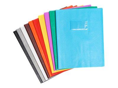 Calligraphe - Protège cahier sans rabat - A4 (21x29,7 cm) - grain cuir - violet