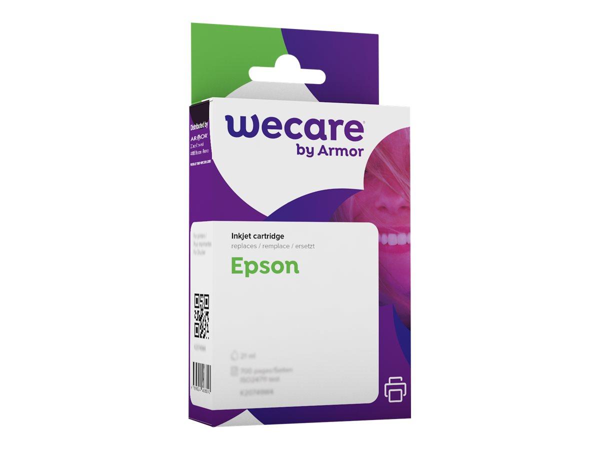 Epson T0554 Canard - compatible Wecare K12119W4 - jaune - cartouche d'encre