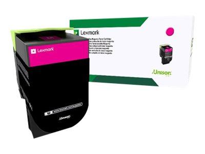 Lexmark 802S - magenta - cartouche laser d'origine