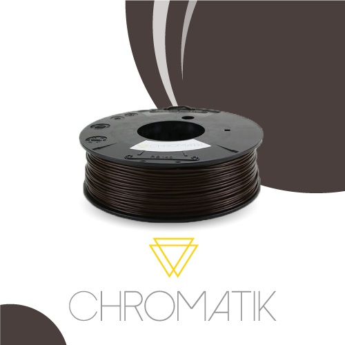 Dagoma Chromatik - filament 3D PLA - chocolat - Ø 1,75 mm - 750g