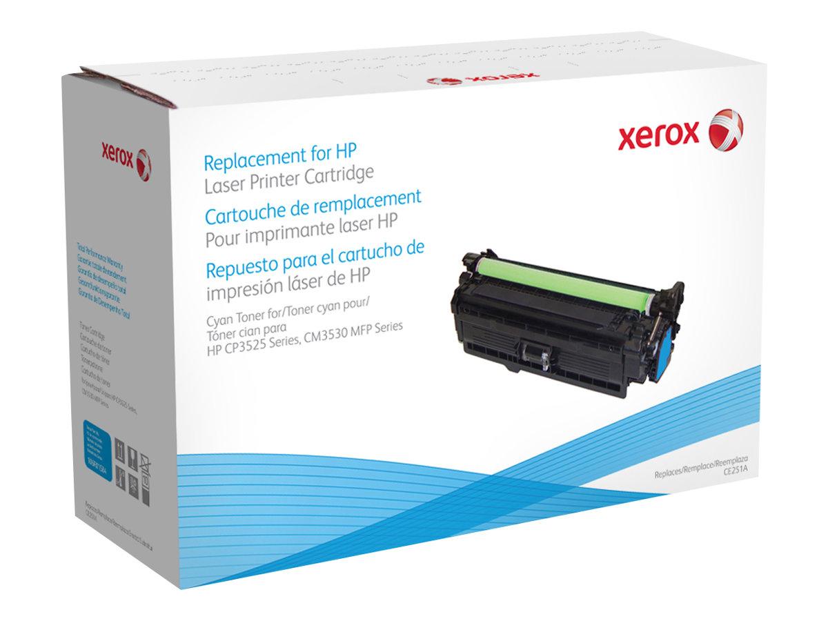 Xerox HP Colour LaserJet CM3530 MFP - cyan - cartouche de toner (alternative pour: HP CE251A)